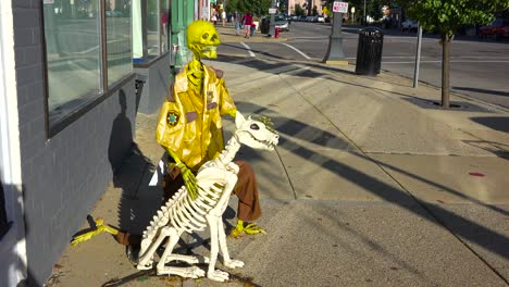 Halloween-skeletons-and-decorations-along-main-street-America-3