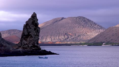Pinnacle-Rock-a-volcanic-tufa-cone-is-a-landmark-in-the-Galapagos-Islands