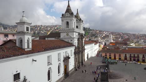 A-pretty-establishing-shot-of-Quito-Ecuador-with-the-San-Francisco-church-and-convent-foreground-2