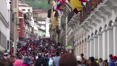 Very-large-crowds-swarm-the-streets-of-downtown-Quito-Ecuador-at-siesta-time