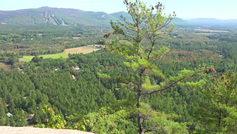 An-establishing-shot-of-rugged-scenery-in-New-Hampshire