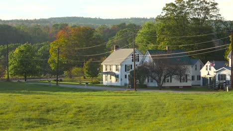 A-quaint-rural-scene-in-a-small-village-in-New-England