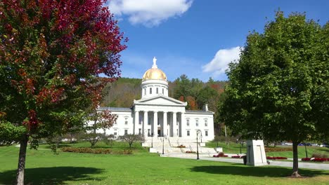 The-capital-building-in-Montpelier-Vermont