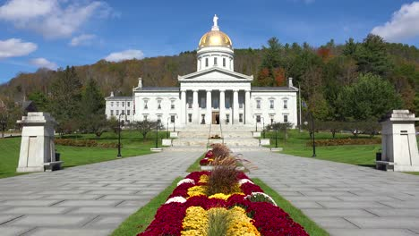 The-capital-building-in-Montpelier-Vermont-1