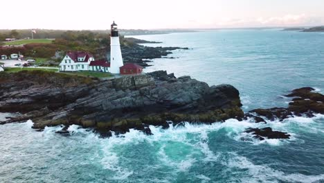 Great-aerial-shot-over-the-Portland-Head-lighthouse-suggests-Americana-or-beautiful-New-England-scenery-2