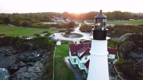 Great-aerial-shot-over-the-Portland-Head-lighthouse-suggests-Americana-or-beautiful-New-England-scenery-4