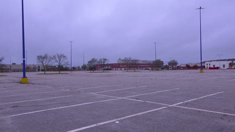 2017---Macys-closes-some-stores-around-America-resulting-in-empty-malls-and-abandoned-parking-lots