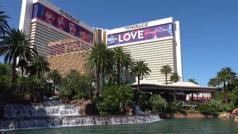 Establishing-shot-of-the-Mirage-hotel-and-casino-in-Las-Vegas