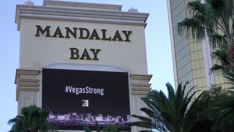 2017---sign-outside-Mandalay-Bay-Hotel-honors-victims-following-Americas-worst-mass-shooting-in-Las-Vegas