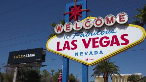 2017---the-Welcome-To-Vegas-sign-alongside-a-Vegastrong-billboard-following-Americas-worst-mass-shooting