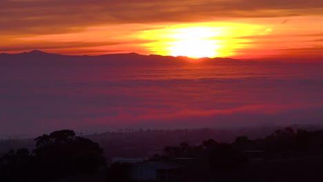 A-beautiful-time-lapse-shot-of-fog-moving-along-the-California-coast-near-Ventura