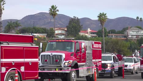 Firefighters-in-fire-trucks-lining-up-for-duty-at-a-staging-area-during-the-Thomas-Fire-in-Ventura-California-in-2017-3