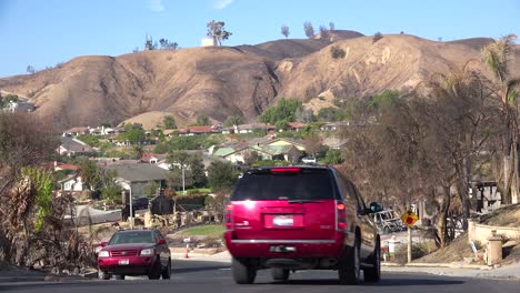 A-neighborhood-in-Ventura-California-devastated-by-the-Thomas-Fire-in-2017