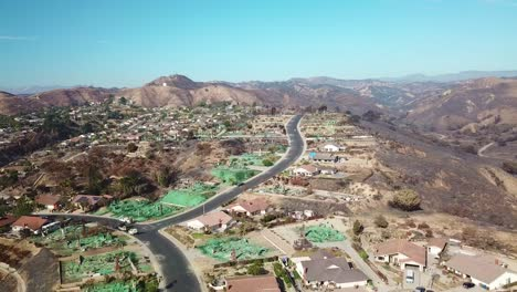 2017---aerial-over-a-neighborhood-in-Ventura-California-destroyed-by-the-Thomas-fire