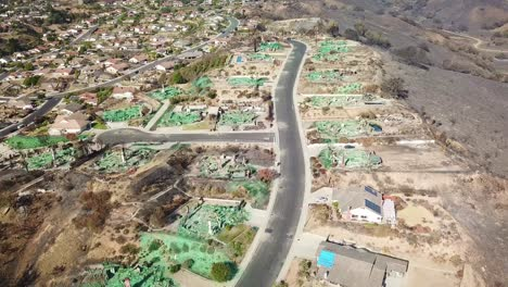 2017---aerial-over-a-neighborhood-in-Ventura-California-destroyed-by-the-Thomas-fire-3