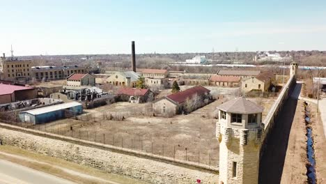 Aerial-of-the-derelict-and-abandoned-Joliet-prison-or-jail-a-historic-site-since-construction-in-the-1880s-2