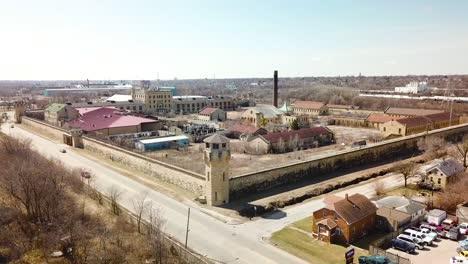 Antena-De-La-Prisión-O-Cárcel-De-Joliet-Abandonada-Y-Abandonada-Un-Sitio-Histórico-Desde-Su-Construcción-En-La-Década-De-1880-5