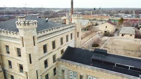 Aerial-of-the-derelict-and-abandoned-Joliet-prison-or-jail-a-historic-site-since-construction-in-the-1880s-9