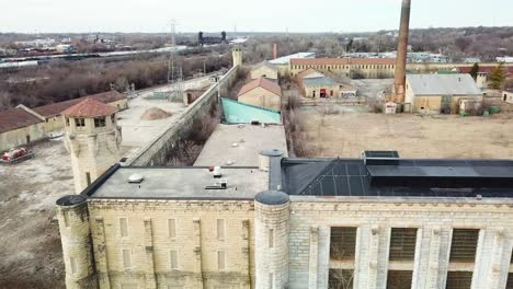 Aerial-of-the-derelict-and-abandoned-Joliet-prison-or-jail-a-historic-site-since-construction-in-the-1880s-10