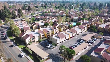 Aerial-over-suburban-Southern-California-sprawl-and-condos-near-Ventura-California
