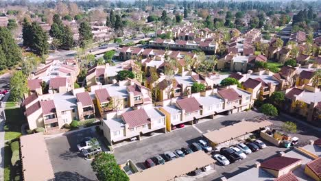 Aerial-over-suburban-Southern-California-sprawl-and-condos-near-Ventura-California-1