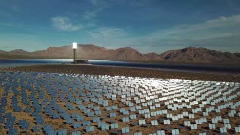 Drone-vista-aérea-over-a-vast-solar-power-generating-facility-at-Primm-Nevada-4