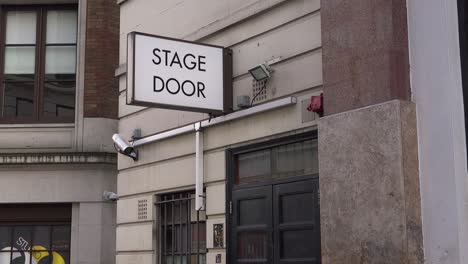 A-generic-stage-door-leads-actors-and-performers-to-the-backstage-of-a-local-theater-in-London-England