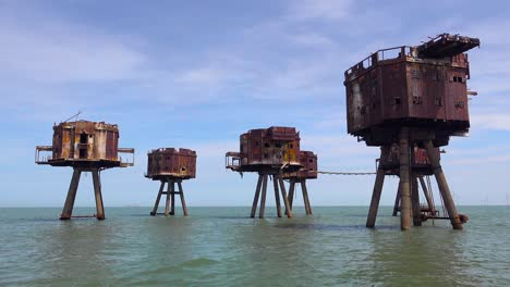 The-Maunsell-Forts-old-World-War-two-structures-stand-rusting-on-stilts-in-the-Thames-River-Estuary-in-England-3