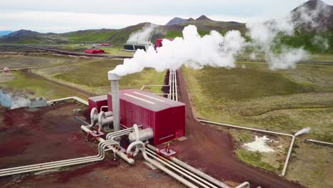 Drone-aerial-over-the-Krafla-geothermal-power-plant-in-Iceland-where-clean-electricity-is-generated-8