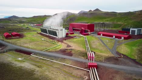 Drone-aerial-over-the-Krafla-geothermal-power-plant-in-Iceland-where-clean-electricity-is-generated-9