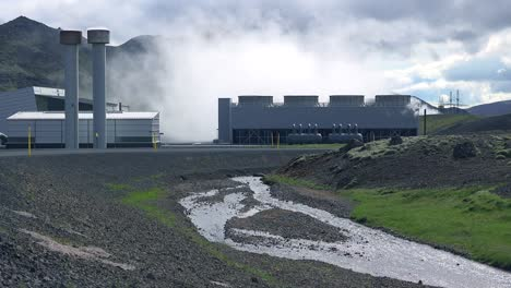 Establishing-shot-of-a-geothermal-power-plant-in-Iceland-where-clean-electricity-is-generated-4