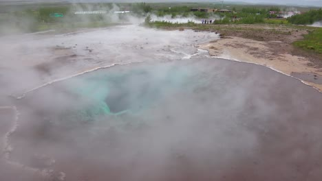 A-hot-boiling-pool-of-water-in-a-geothermal-region-of-Iceland-near-Strokkur-geyser
