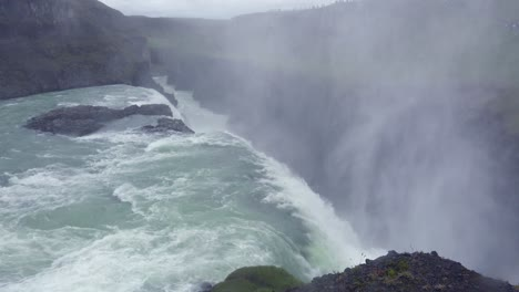 The-spectacular-and-massive-waterfall-Gullfoss-flows-into-a-narrow-canyon-in-Iceland-1