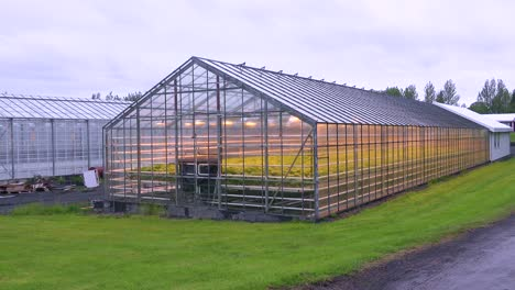 Exterior-establishing-shot-of-an-Iceland-greenhouse-using-geothermal-hot-water-to-grow-fruits-and-vegetables-3
