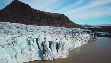 Amazing-aerial-of-the-Vatnajokull-glacier-at-Fjallsarlon-Iceland-suggests-global-warming-and-climate-change