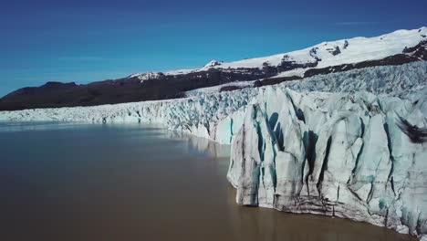 Amazing-aerial-of-the-Vatnajokull-glacier-at-Fjallsarlon-Iceland-suggests-global-warming-and-climate-change-2