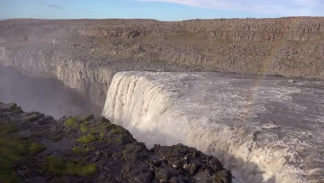 Dettifoss-Iceland-one-of-the-most-remarkable-waterfalls-in-the-world-with-rainbow