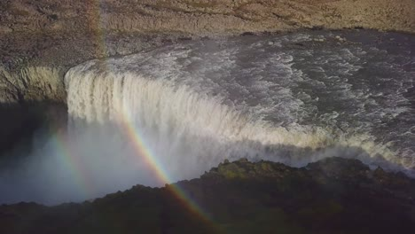 Aerial-over-Dettifoss-Iceland-one-of-the-most-remarkable-waterfalls-in-the-world-3