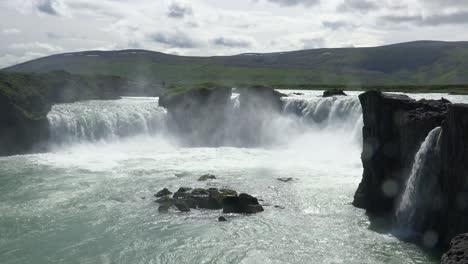 Godafoss-is-a-beautiful-waterfall-in-Iceland