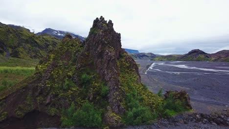 Aerial-of-the-majestic-deep-inspiring-canyon-of-Stakkholtsgja-near-Thorsmork-Iceland-7