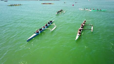 Aerial-over-outrigger-canoes-racing-in-a-rowing-race-on-the-Pacific-ocean-near-Ventura-California-6