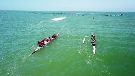 Aerial-over-outrigger-canoes-racing-in-a-rowing-race-on-the-Pacific-ocean-near-Ventura-California-11