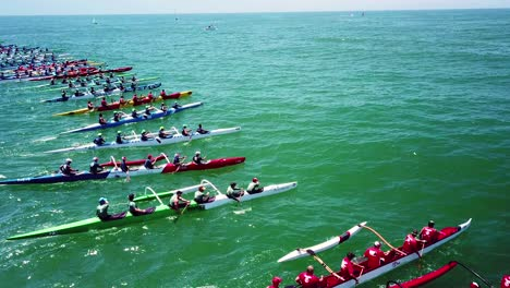 Aerial-over-outrigger-canoes-racing-in-a-rowing-race-on-the-Pacific-ocean-near-Ventura-California-12