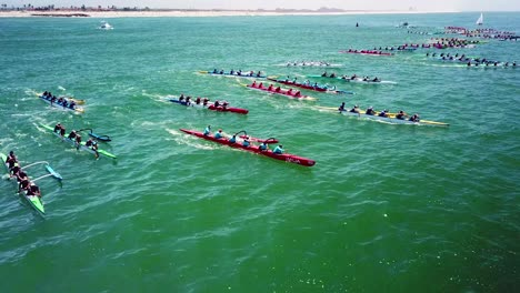 Aerial-over-outrigger-canoes-racing-in-a-rowing-race-on-the-Pacific-ocean-near-Ventura-California-13