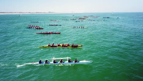 Aerial-over-outrigger-canoes-racing-in-a-rowing-race-on-the-Pacific-ocean-near-Ventura-California-14