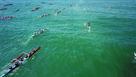 Aerial-over-outrigger-canoes-racing-in-a-rowing-race-on-the-Pacific-ocean-near-Ventura-California-15