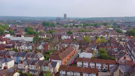 Nice-aerial-over-the-city-of-Canterbury-and-cathedral-Kent-United-Kingdom-England-2