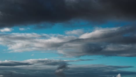 Beautiful-time-lapse-of-moving-clouds-at-a-high-altitude-suggesting-jet-stream-sky-or-heaven