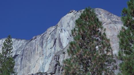 Pan-and-tilt-camera-move-showcasing-The-Nose-of-El-Capitan-one-of-rock-climbings-big-granite-walls-Yosemite-NP-CA