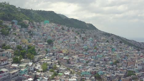 Amazing-aerial-slowly-rising-over-the-endless-slums-favelas-and-shanty-towns-in-the-Cite-Soleil-district-of-Port-Au-Prince-Haiti